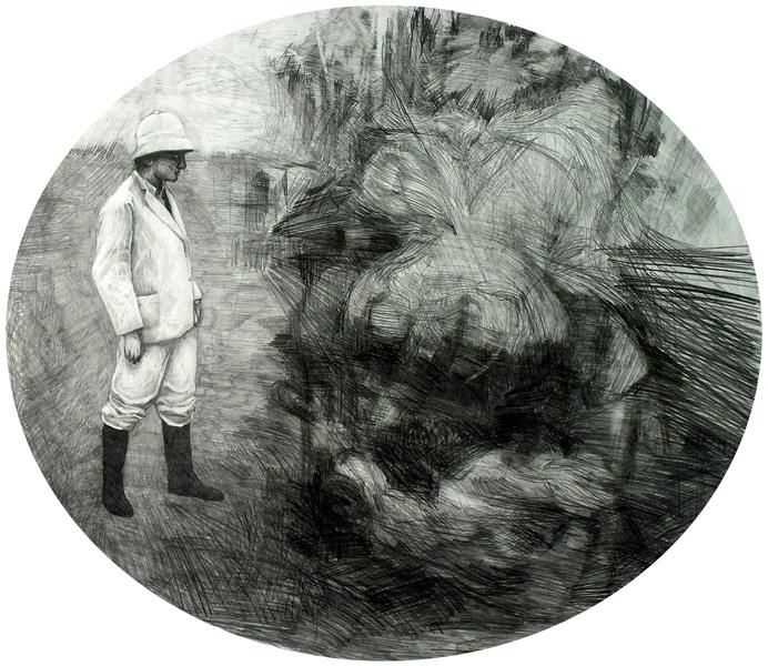 Sans titre, 2006, 80 x 120 cm